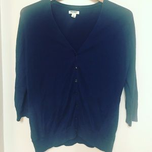 Old Navy navy blue cardigan