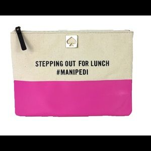 Kate Spade stepping out for lunch #manipedi clutch