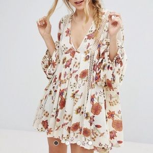 Free People Just The 2 Of Us Long Sleeved Dress