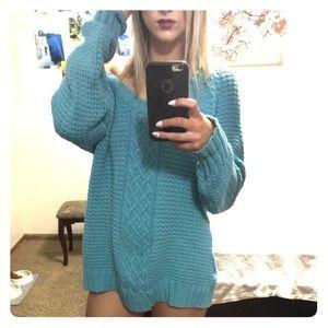 Oversized Cozy Knit Sweater