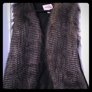 Fur Vest - great for fall!