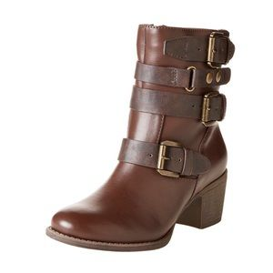 "NEW! Ruff Hewn ""Thayer"" Buckled Booties"