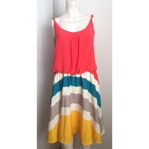Romeo & Juliet Couture Multi Colored Dress