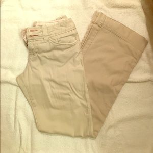 Pants - Khakis. Size 3. Wide leg. Good condition!