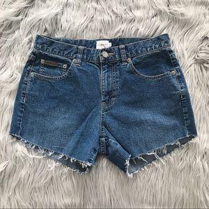VINTAGE Calvin Klein Cutoff Denim Shorts