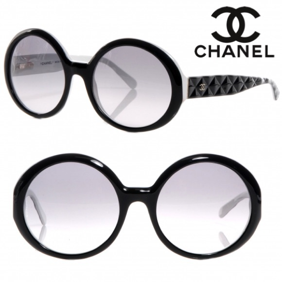 71db848f9c CHANEL Accessories - Chanel Round Quilted Gradient Sunglasses