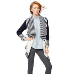 NWT GAP Cable Striped Cardigan