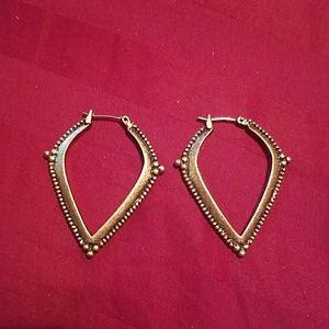 Lucky Brand small hoop earrings