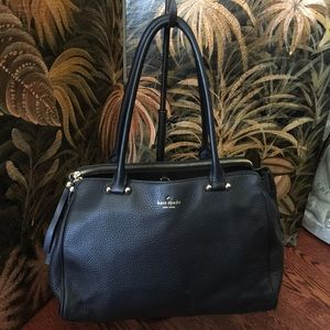 Kate Spade Pebbled Leather Compartment Satchel