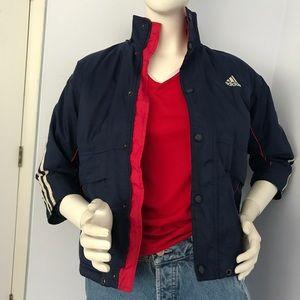 Vintage 90s Adidas Half-sleeved Coat