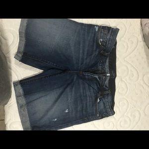 Loft jean shorts size 8