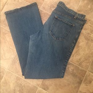 Gap Low Rise Bootcut Pant Stretch Light Blue Jeans