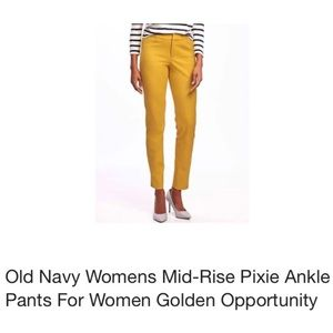 Old Navy pixie Ankle Pants