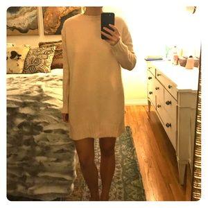 Zara, pale pink oversized sweater