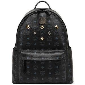 Other - Black MCM studded bookbag