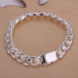 Jewelry - 925 solid sterling silver bracelet 8""