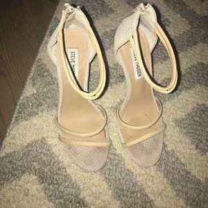 Steve Madden sandals nude 6.5