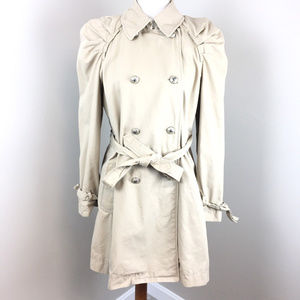 Juicy Couture Trench Coat Size L Women's