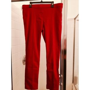 Pants - CUTE RED TROUSERS