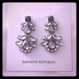 BR Crystal Chandelier Earrings