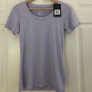 light purple nike t shirt