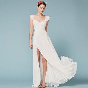 Reformation White Julieta Dress