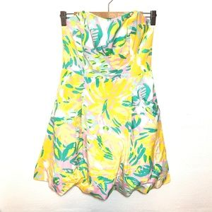 Lilly Pulitzer Lilet Print Bloom Dress Size 2