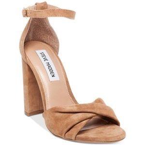 Steve Madden Clever, Suede heels size 7.5!!