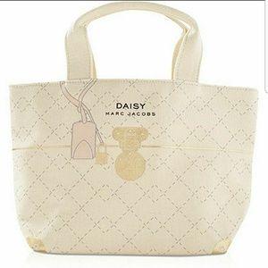 Daisy Marc Jacobs Canvas Bag with Embellishment