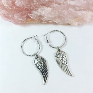 Katy Ginger Designs Jewelry - KATY GINGER DESIGNS Wing Hoops