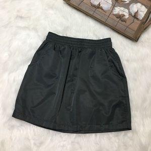 American Apparel Dark Gray Skirt