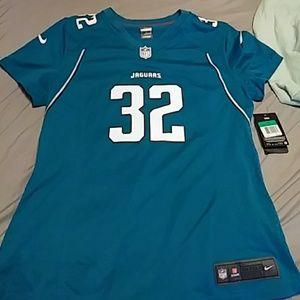 Nike NWT on field women's xl Jones-drew jersey #32