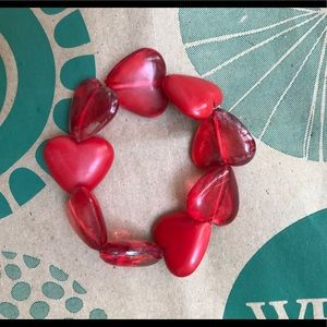 Jewelry - RED HEART BRACELET