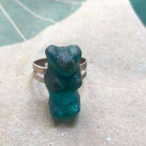 Jewelry - BLUE GUMMI BEAR RING