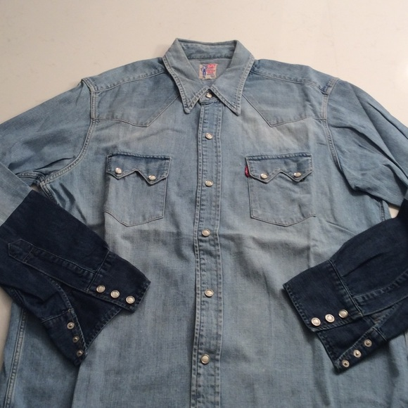 3e5d0d54aef Levi s Other - Vintage Levis Western Wear Denim Shirt