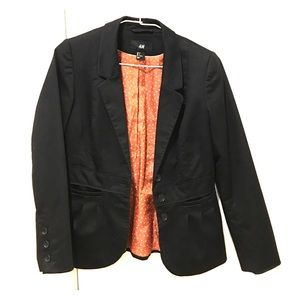 H & M fitted jacket/blazer