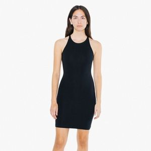 American Apparel Sleeveless Mini Dress -LIGHT PINK