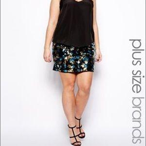ASOS Sequin Skirt