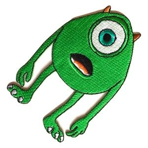 Other - Monsters Inc Patch/ Mike Wazowski Iron On Embroide