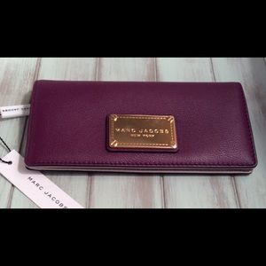 NEW Marc Jacobs Classic Open face Bifold Wallet
