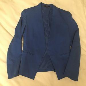 Cobalt blue theory blazer