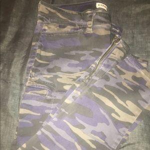 Camaflauge Skinny Jeans