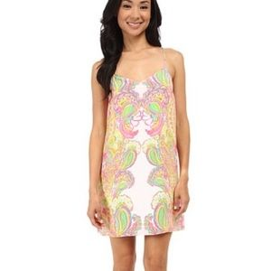 Lilly Pulitzer dusk dress in double trouble
