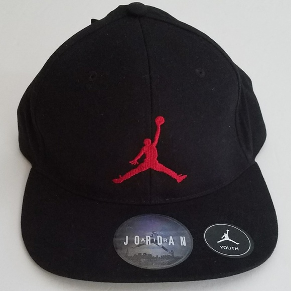 70c29b933a7631 Nike Youth Air Jordan Jumpman Baseball Cap Hat