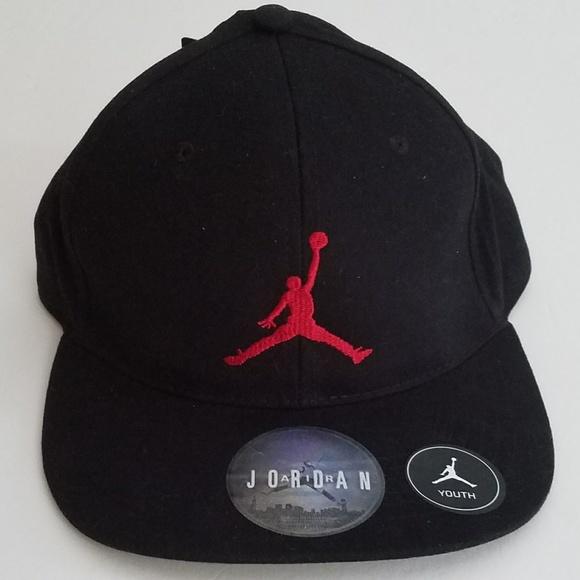 fb9c54c282b86 Nike Youth Air Jordan Jumpman Baseball Cap Hat