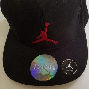 012ca171ddc83 Nike Accessories - Nike Youth Air Jordan Jumpman Baseball Cap Hat