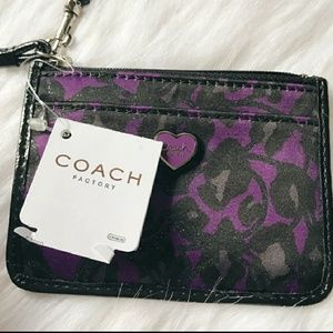 🔖NWT LIMITED EDITION COACH OCELOT