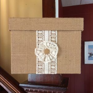Other - Card Box for Wedding