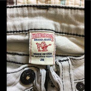 True religions skinny jeans sz 26