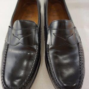Allen Edmonds Black Loafers 12D Walden Leather